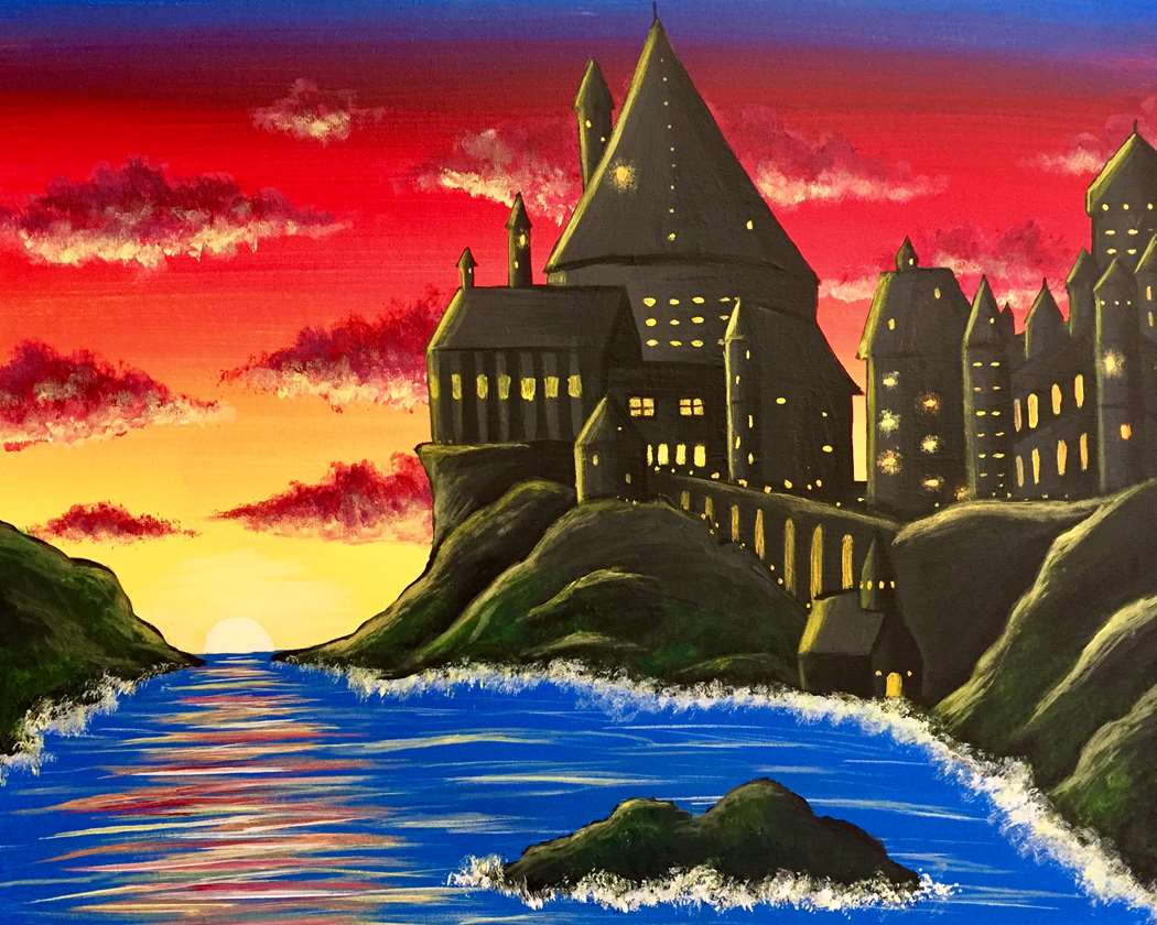 Wizards Castle at Sunset