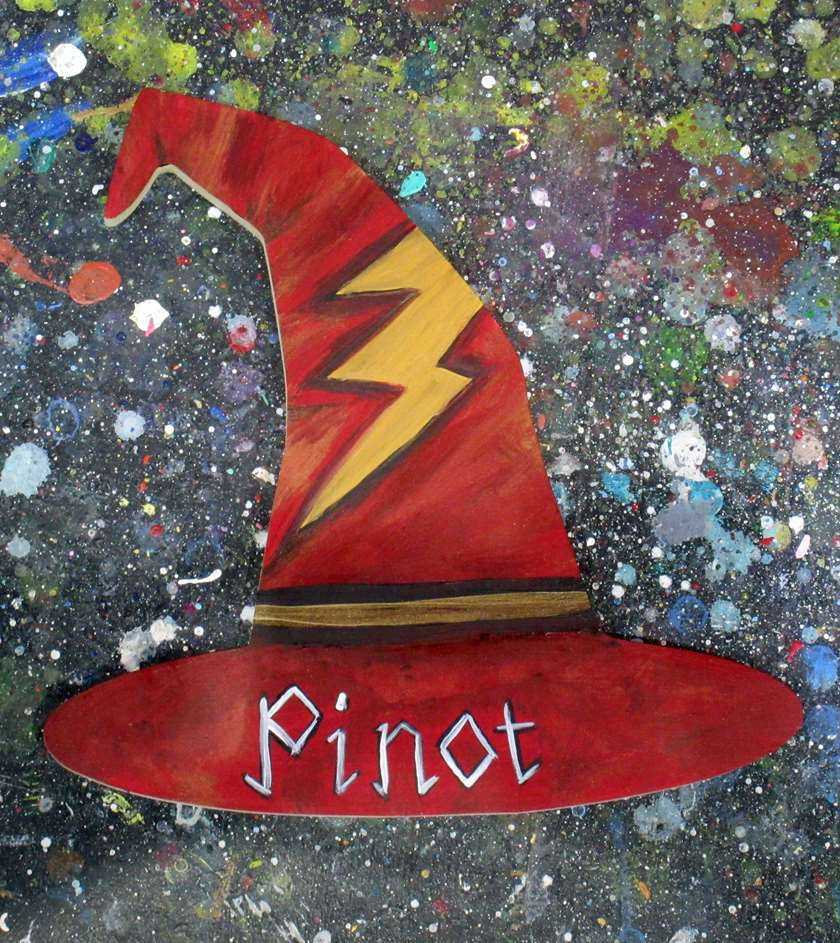Wizards Hat Wooden Cut Out