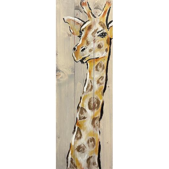 Wood Board Giraffe