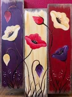 Woodland Poppies