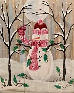 Woodland Snowman