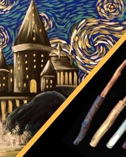 Worthwich Wand Making & Wizards Painting Party
