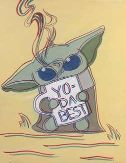 Yo Da Best Anaglyph