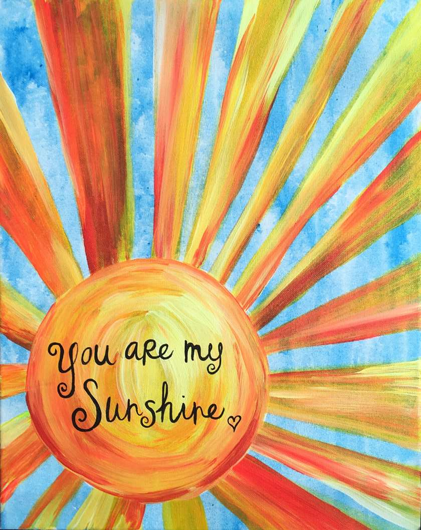 You Are My Sunshine Sat May 13 10am At Appleton