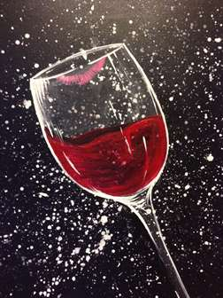 Paint And Sip In South Hill South Hill Pinot S Palette