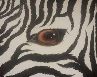 Zebra Eye