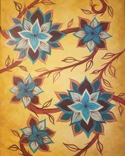 Zen Lotus (16x20)